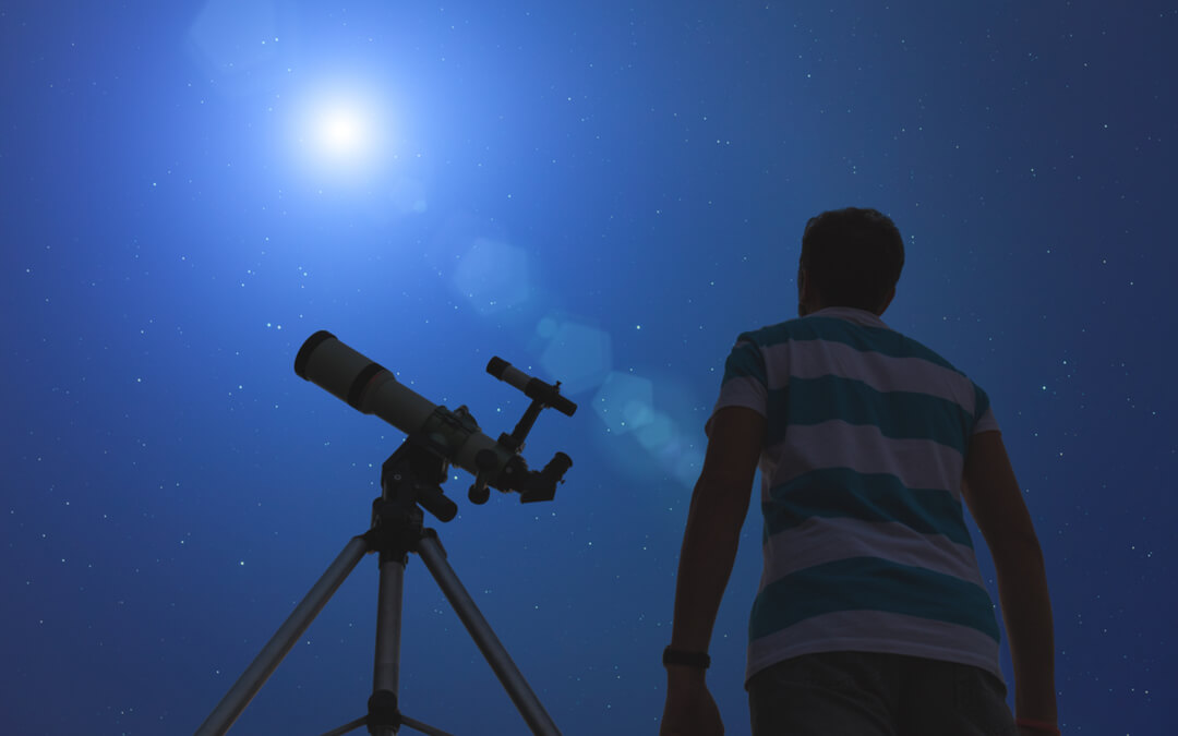 For an out of this world family activity, look to the skies