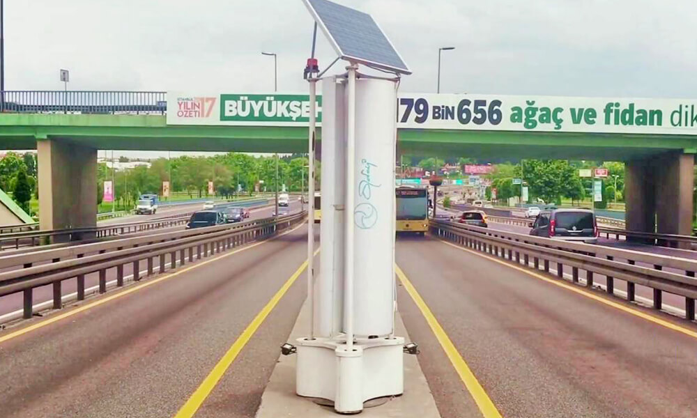 sustainable energy on the road